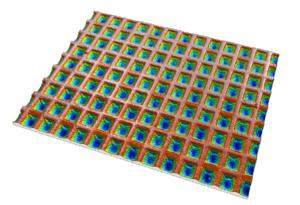 Deterministic surface